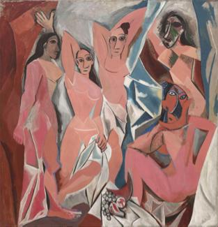 """""""Les Demoiselles d'Avignon"""", 1907, Pablo Picasso"""