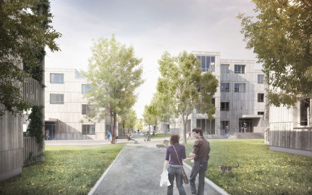 Housing development. Hauenstein area Kuettigen