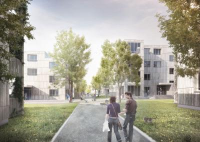 Housing development Hauenstein area Kuettigen