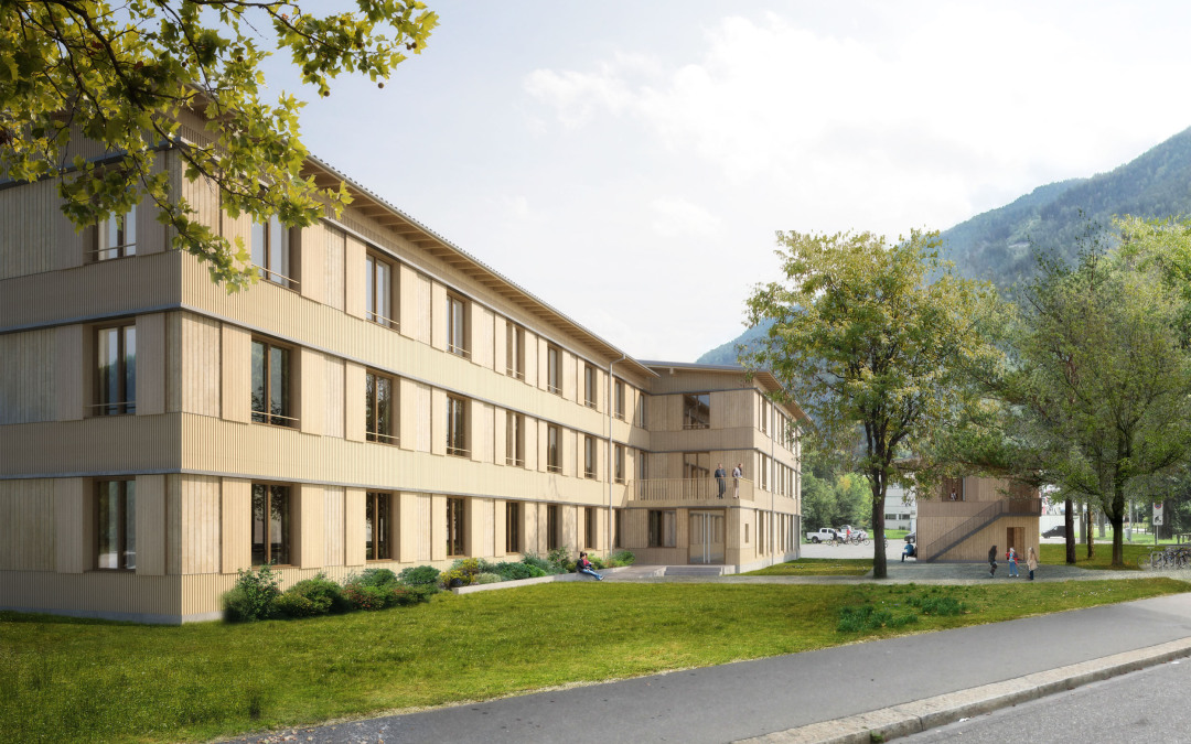 Competition Asylum home. Churwalden