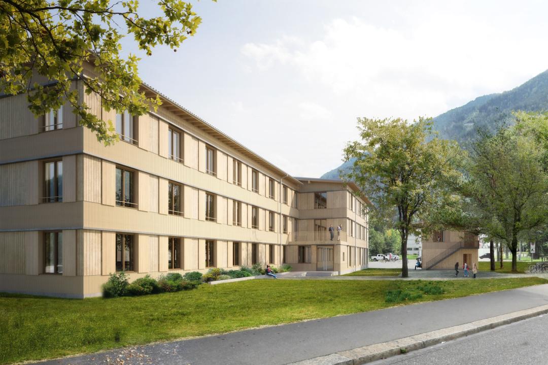 Wettbewerb Heim für Asylsuchende, Churwalden