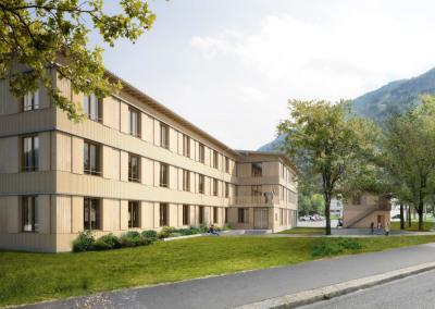 Heim für Asylsuchende Churwalden