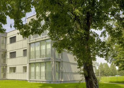 Im Langacher, energy efficient refurbishment