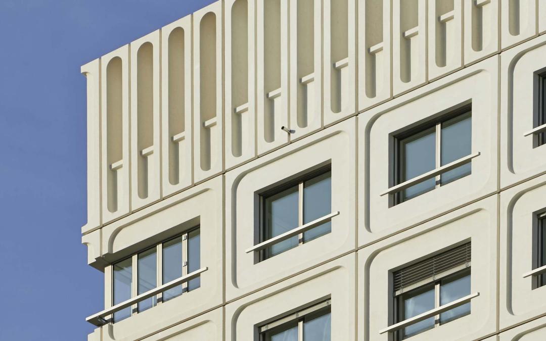 Residential high-rise, near Rietpark. Schlieren