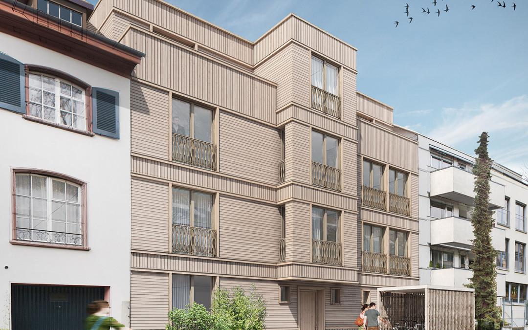 Aescherstrasse, Basel – Sustainable housing estate