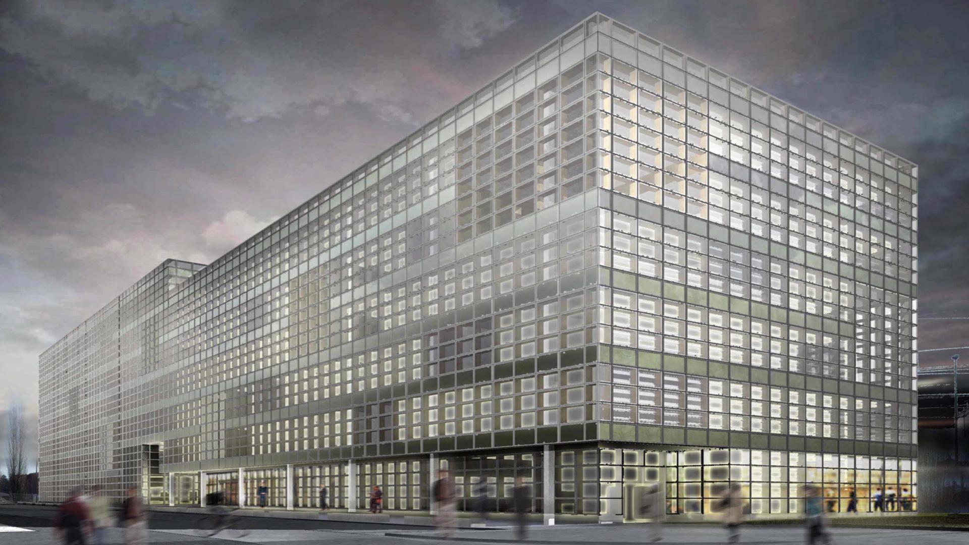 Farbi Schlieren CH Sustainable Office Building