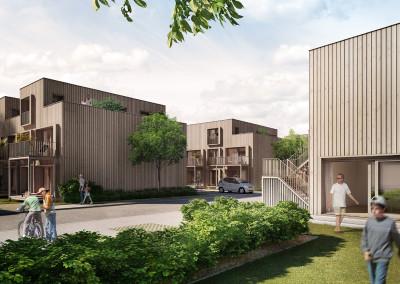 Graphis, housing estate, Zofingen