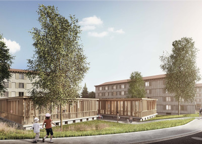 Housing and refurbish development Klosterbühl, Wettingen