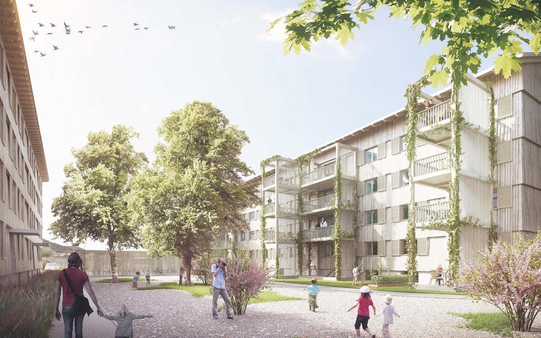 Wohnsiedlung Klosterbühl, Wettingen