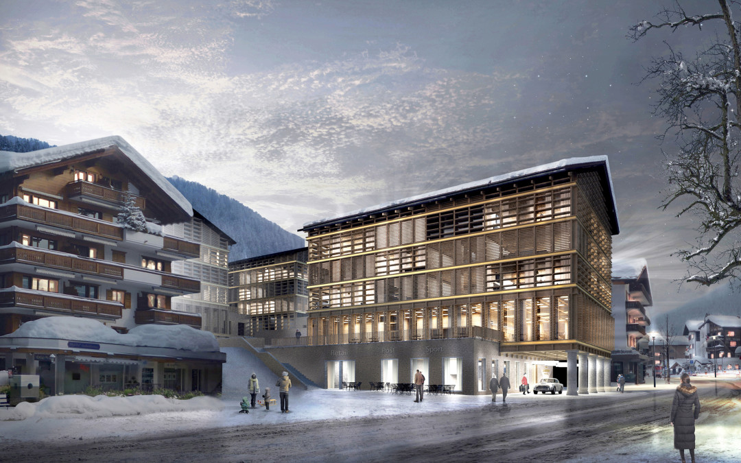 "Five-star Hotel ""La Montana"" in Klosters"