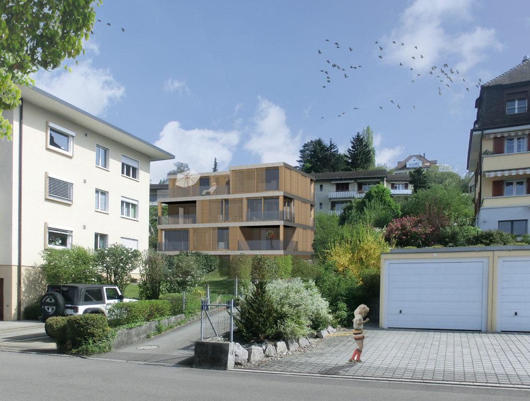 Wohnhaus «KOKON» Rietstrasse 23, Erlenbach