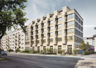 Residential Building Hohlstrasse, 100 8004 Zurich