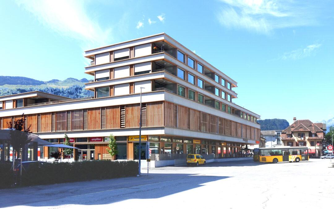 «Zentrum Marcau» Glennerstrasse, Ilanz
