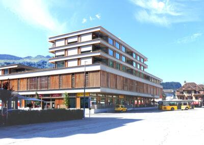 «Center Marcau» Glennerstrasse, Ilanz