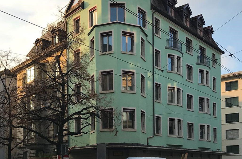 Sanierungsprojekt Seefeldstrasse 120  Zürich