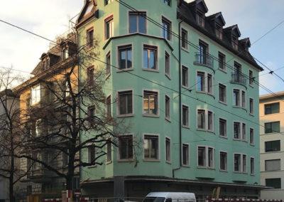 Energetic renovation  Seefeldstrasse 120,  Zürich