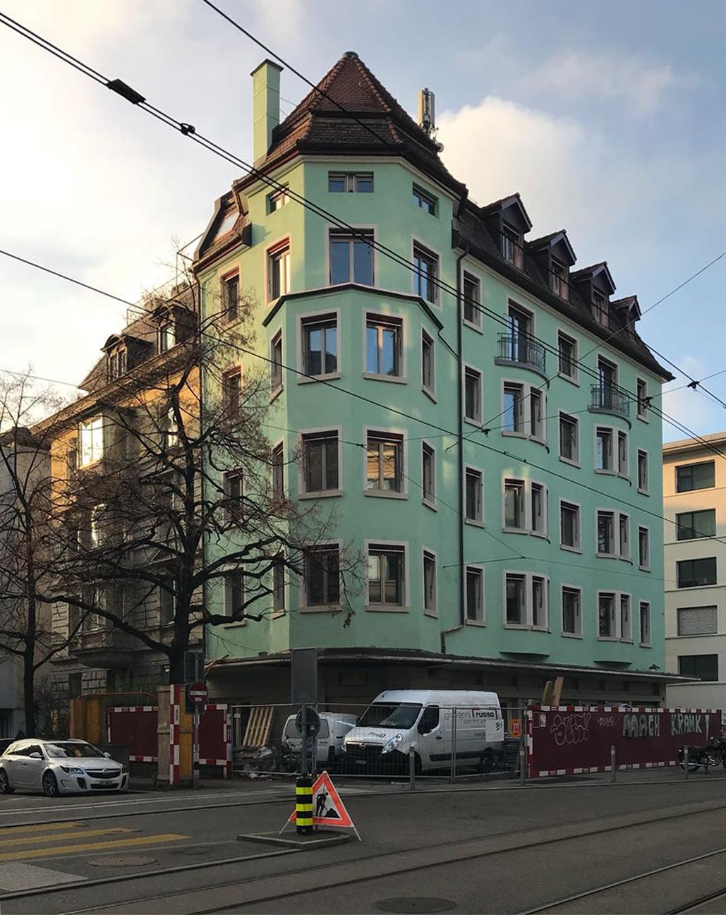 Sanierungsprojekt Seefeldstrasse 120, Zürich