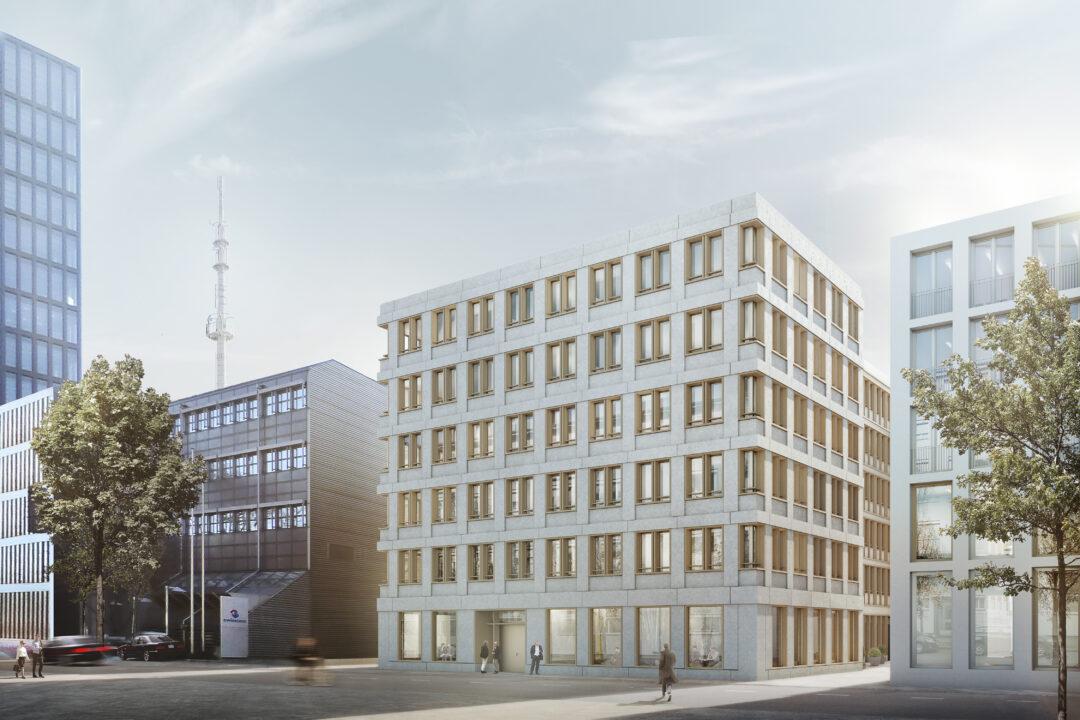 Wettbewerb Bürogebäude, Basel