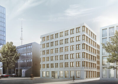 Competition for office building, Basel