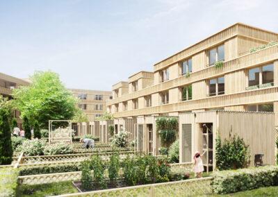 Competition for residential quarter, Neu-Ulm